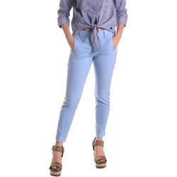 Kleidung Damen Chinohosen Fornarina BE171L74G29118 Blau