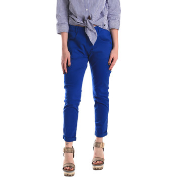 Kleidung Damen Chinohosen Fornarina BE171L75G29112 Blau