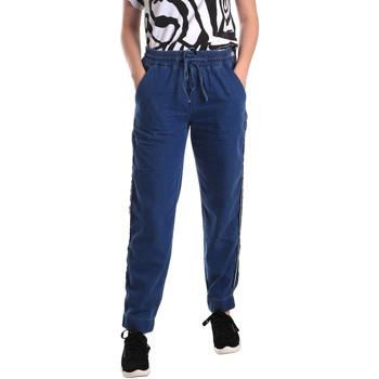 Kleidung Damen Straight Leg Jeans Fornarina BE171L93D883SK Blau