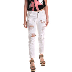 Kleidung Damen Boyfriend Jeans Fornarina BE171L94D877KM Weiß