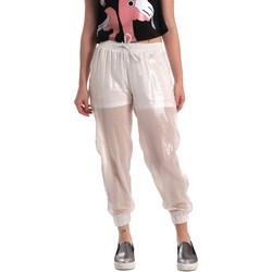 Kleidung Damen Jogginghosen Fornarina BE171L95CA0509 Weiß