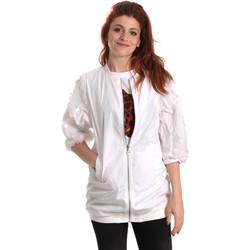 Kleidung Damen Windjacken Fornarina BE173C31N30009 Weiß