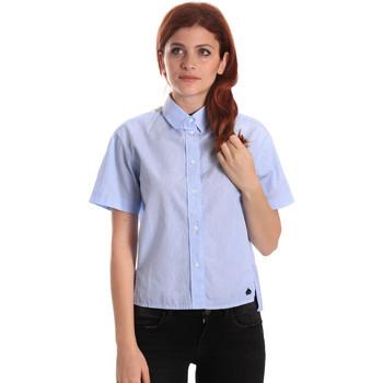 Kleidung Damen Hemden Fornarina BE174567CA1218 Blau