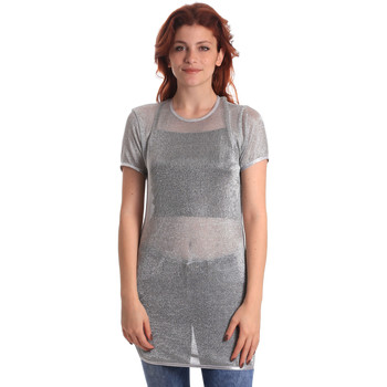 Kleidung Damen Tops / Blusen Fornarina BE175J69H27090 Grau