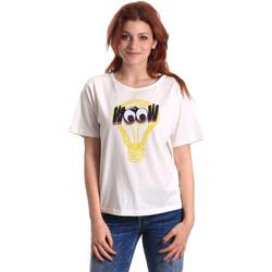 Kleidung Damen T-Shirts Fornarina BE175L27JG1608 Weiß