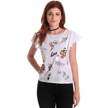 Kleidung Damen T-Shirts Fornarina BE175L40JG0709 Weiß
