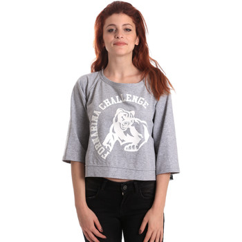 Kleidung Damen Sweatshirts Fornarina BE176841F42706 Grau