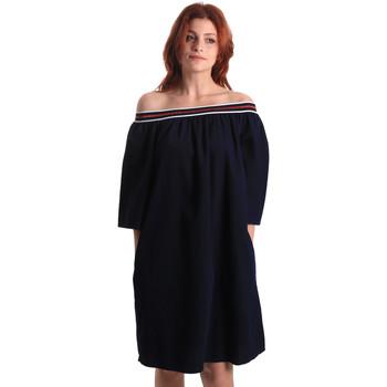 Kleidung Damen Kurze Kleider Fornarina BE178D60D883NT Blau