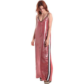 Kleidung Damen Maxikleider Fornarina BE178D61CA05E9 Rosa