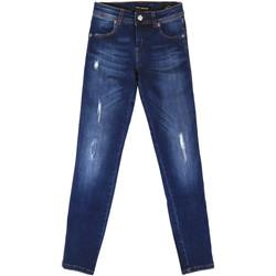 Kleidung Damen Boyfriend Jeans Fornarina BER1I89D844UA Blau