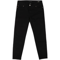 Kleidung Damen Slim Fit Jeans Fornarina BER1L01D840VA Schwarz