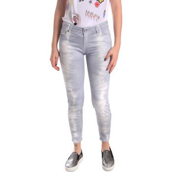 Kleidung Damen Boyfriend Jeans Fornarina BER1L01D851GD Grau
