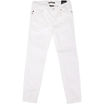 Kleidung Damen Slim Fit Jeans Fornarina BER1L01D851VJ Weiß
