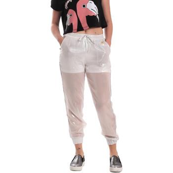 Kleidung Damen Jogginghosen Fornarina SE171L95CA0509 Weiß