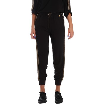 Kleidung Damen Jogginghosen Fornarina SE171L96C99700 Schwarz