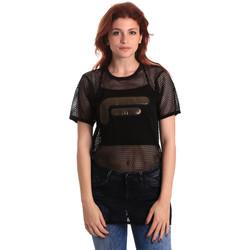 Kleidung Damen Tops / Blusen Fornarina SE175J69H26600 Schwarz
