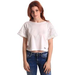 Kleidung Damen Tops / Blusen Fornarina SE175J88JG1309 Weiß