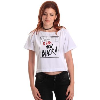 Kleidung Damen T-Shirts Fornarina SE175L28JG0709 Weiß