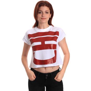Kleidung Damen T-Shirts Fornarina SE175L31JG0709 Weiß