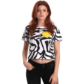 Kleidung Damen T-Shirts Fornarina SE175L35JG0700 Schwarz