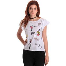 Kleidung Damen Tops / Blusen Fornarina SE175L40JG0709 Weiß