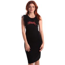 Kleidung Damen Kurze Kleider Fornarina SE178D55F42400 Schwarz
