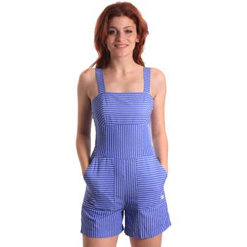 Kleidung Damen Overalls / Latzhosen Fornarina SE178D80CA1411 Blau