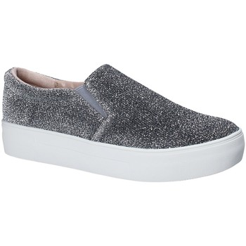 Schuhe Damen Slip on Fornarina PE17EY1118G090 Grau