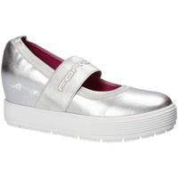 Schuhe Damen Ballerinas Fornarina PE17MJ1004M090 Grau