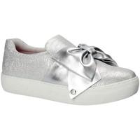 Schuhe Damen Slip on Fornarina PE17YM9608M090 Grau