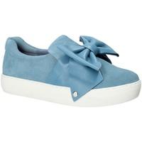 Schuhe Damen Slip on Fornarina PE17YM9608S018 Blau