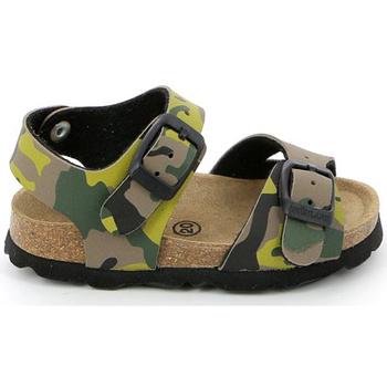 Schuhe Kinder Sandalen / Sandaletten Grunland SB0169 Grün