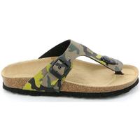 Schuhe Kinder Zehensandalen Grunland CB0406 Grün