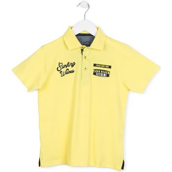 Kleidung Kinder Polohemden Losan 713 1032AA Gelb