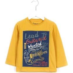 Kleidung Kinder Pullover Losan 625 1014AC Gelb