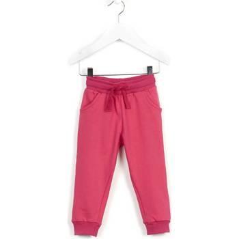 Kleidung Kinder Jogginghosen Losan 626 6014AD Rosa