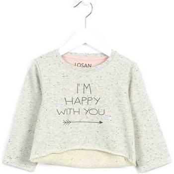 Kleidung Kinder Pullover Losan 626 6023AD Grau