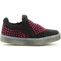 Schuhe Mädchen Slip on Lulu LS150024T Schwarz