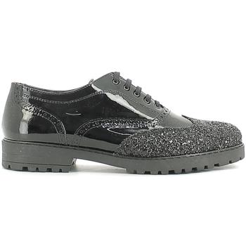 Schuhe Kinder Derby-Schuhe Alberto Guardiani GK22100G/--B/XV00-- Schwarz
