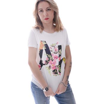 Kleidung Damen T-Shirts Fracomina FR20SP368 Weiß