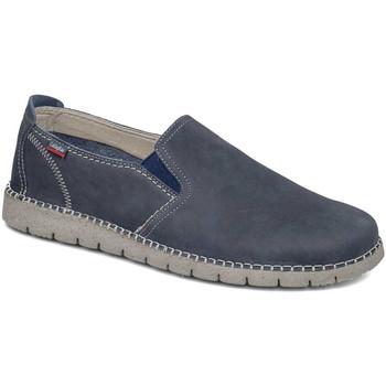 Schuhe Herren Slip on CallagHan 84701 Blau