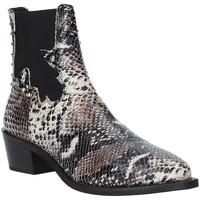 Schuhe Damen Low Boots Apepazza 9FCLM05 Grau