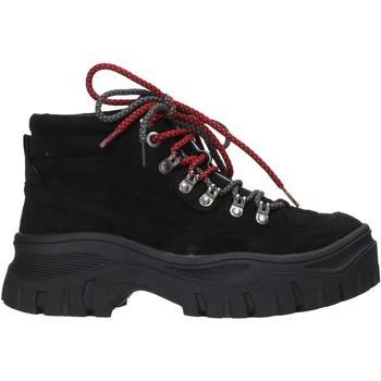 Schuhe Damen Low Boots Gold&gold B19 GR53 Schwarz