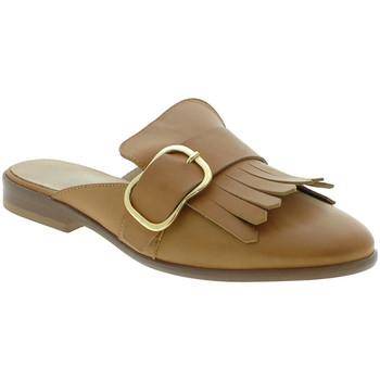 Schuhe Damen Pantoletten / Clogs Mally 6116 Braun