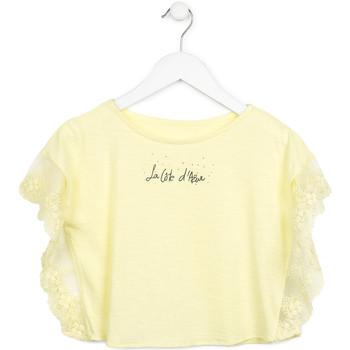 Kleidung Mädchen Tops / Blusen Losan 714 1032AB Gelb