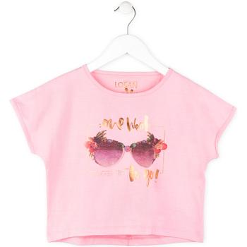 Kleidung Mädchen T-Shirts Losan 714 1200AB Rosa