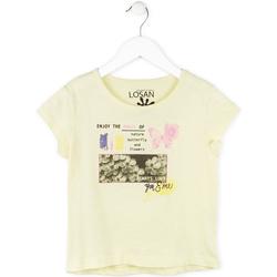 Kleidung Mädchen T-Shirts Losan 714 1208AB Gelb