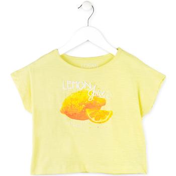 Kleidung Mädchen T-Shirts Losan 714 1211AB Gelb