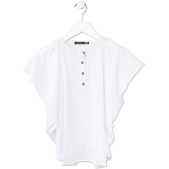Kleidung Mädchen Tops / Blusen Losan 714 3002AB Weiß
