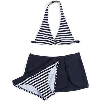 Kleidung Mädchen Bikini Losan 714 4009AB Blau